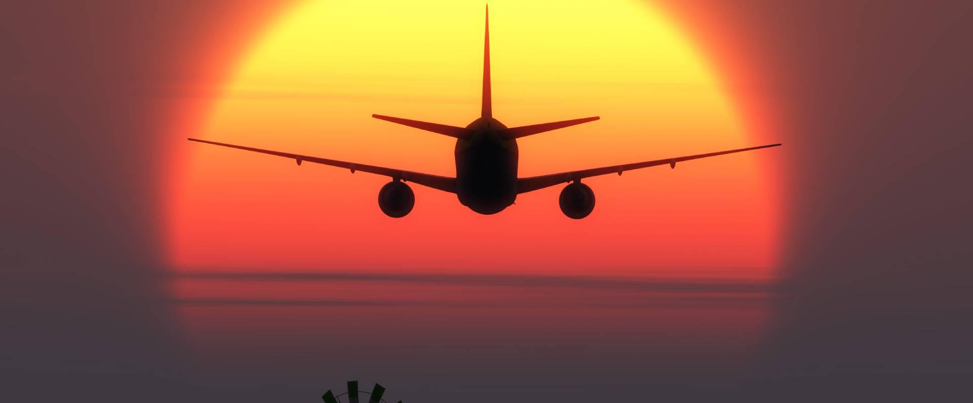 Mallorca plane landing