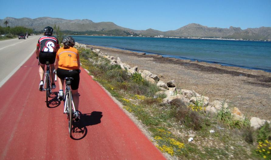 Port Pollensa cycling