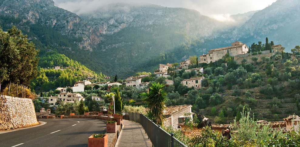 Cycling in Valldemossa